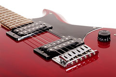 Particolari della chitarra Immagini Stock