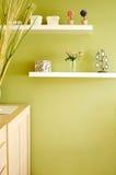 Particolari della decorazione della camera da letto Fotografie Stock Libere da Diritti
