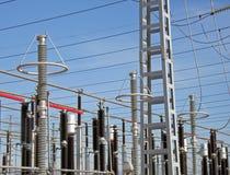 Particolari della pianta di elettricità Immagini Stock