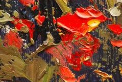 Particolari della pittura Fotografia Stock