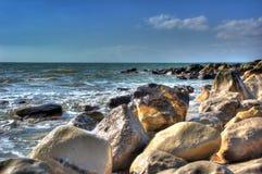 Particolari della spiaggia Fotografie Stock Libere da Diritti