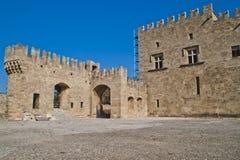 Particolari delle porte, delle pareti e delle torrette Immagini Stock