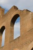 Particolari delle rovine Fotografia Stock
