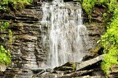 Particolari di bella cascata Fotografia Stock
