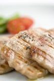 Particolari di carne cotta saporita Fotografia Stock Libera da Diritti