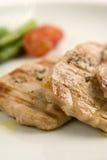 Particolari di carne cotta saporita Immagine Stock Libera da Diritti