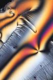 Particolari di cristallo astratti Immagini Stock Libere da Diritti