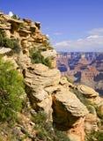Particolari di grande canyon Fotografia Stock