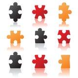 Particolari di puzzle Fotografia Stock Libera da Diritti