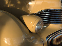 Particolari di un'automobile antica Fotografia Stock