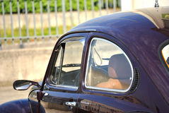 Particolari di un'automobile antica Fotografia Stock Libera da Diritti
