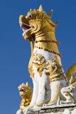 Particolari di Wat, Chiang Mai, Tailandia Fotografia Stock