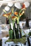 Particolari e decorazioni di cerimonia nuziale Fotografia Stock