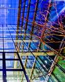 Particolari moderni dell'interiore della costruzione Immagini Stock Libere da Diritti