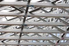 Particolari strutturali dell'acciaieria fotografia stock libera da diritti