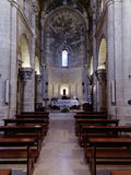 Particular of the church of San Biagio Matera Italy Stock Photo