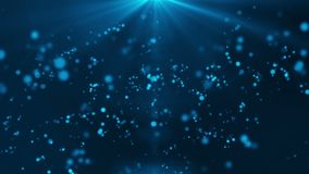 Particular light background HD 1080 blue stock video footage