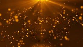 Particular light background HD 1080 golden stock video