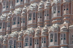 Particular of the palace of winds, India Stock Image
