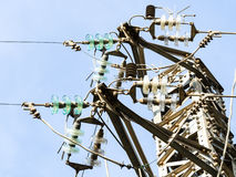 Particular of a Pylon Royalty Free Stock Photography
