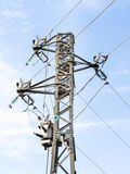 Particular of a Pylon Stock Photo