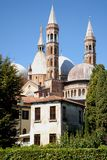 Particular view of the basilica of St. Anthony in Padua in the Veneto (Italy) Stock Photography