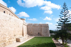 Particularly the walls of Mdina , Malta europe Stock Photography
