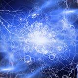 Particule d'éléments atomiques Photographie stock