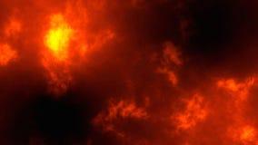 Particules abstraites de bokeh de scintillement d'or, fond 3d du feu rendre image stock