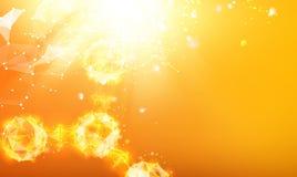 Particules d'atome illustration libre de droits