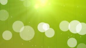 Particules de flottement illustration stock