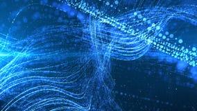 Particules de l'espace de Cyber de Digital Photos stock
