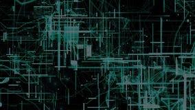 Particules de l'espace de Cyber de Digital Photographie stock libre de droits