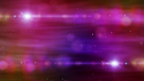 Particules et mouvement de fusée colorés par fond abstrait banque de vidéos
