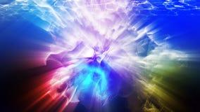 Particules multicolores, illustration 3d Photographie stock libre de droits