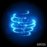 Particules subatomiques Photos stock