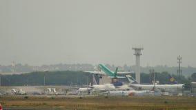 Partida de Aer Lingus Airbus A320 filme