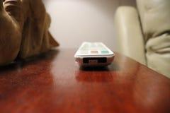 Partida de April Fools Day com telecontrole da tevê Foto de Stock Royalty Free
