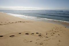 Partida de la playa Fotos de archivo