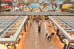 Partida Salão no aeroporto Fotos de Stock