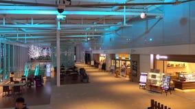 Partida Salão no aeroporto de Haneda, Tóquio, Japão filme