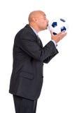 Partidario del fútbol Imágenes de archivo libres de regalías