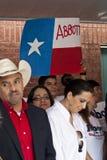 Partidarios políticos Imagen de archivo