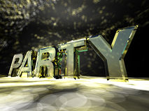 Partido Fotografía de archivo