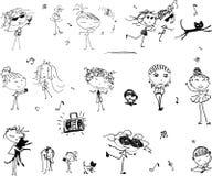Partido ilustração royalty free