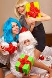 Partido alegre Fotografía de archivo libre de regalías