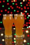 Partido con la cerveza fina Fotografía de archivo libre de regalías