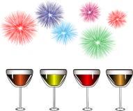 Partido da celebração Ilustração do Vetor