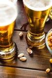 Partido da cerveja Imagem conservada em estoque Foto de Stock Royalty Free