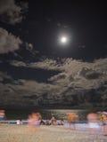 Partido da Lua cheia Fotos de Stock